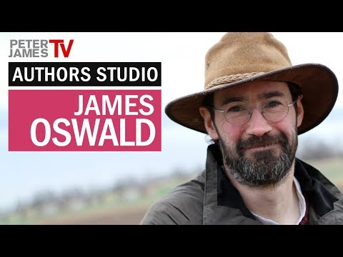 Peter James | James Oswald | Authors Studio – Meet The Masters