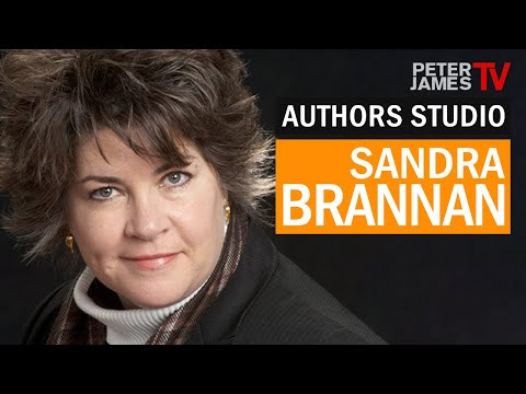 Peter James   Sandra Brannan   Authors Studio – Meet The Masters