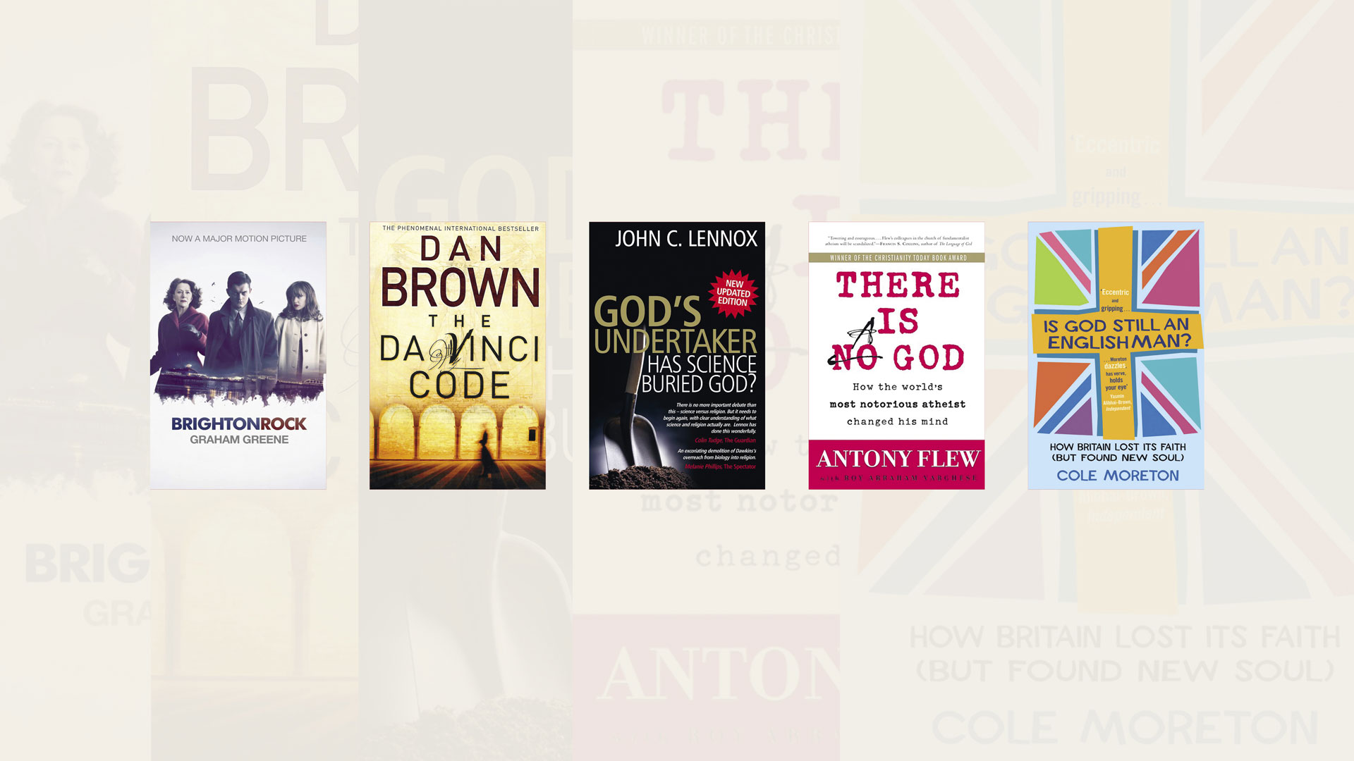 Top 5 books about God, as chosen by Peter James