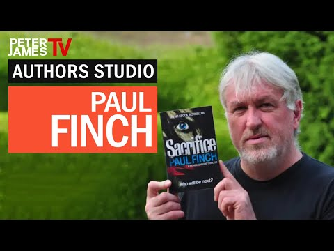 Peter James | Paul Finch | Authors Studio – Meet The Masters