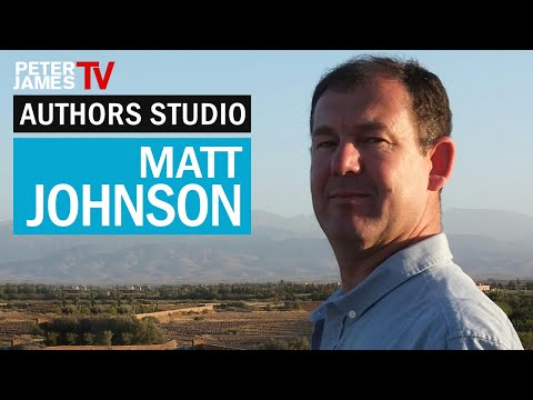 Peter James | Matt Johnson| Authors Studio – Meet The Masters