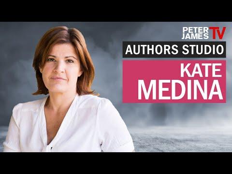 Peter James | Kate Medina | Authors Studio – Meet The Masters