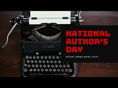 Peter James | Book Chat | National Author's Day