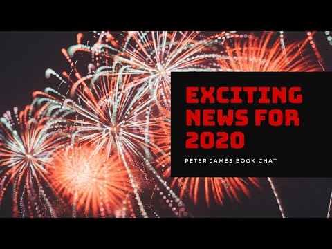 PETER JAMES | BOOK CHAT | EXCITING NEWS FOR 2020