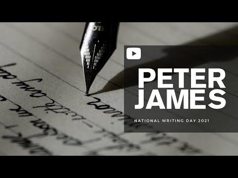 Peter James TV | National Writing Day 2021